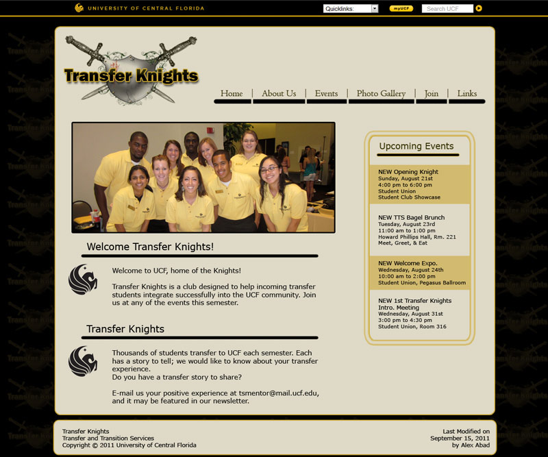 transfer knights homepage