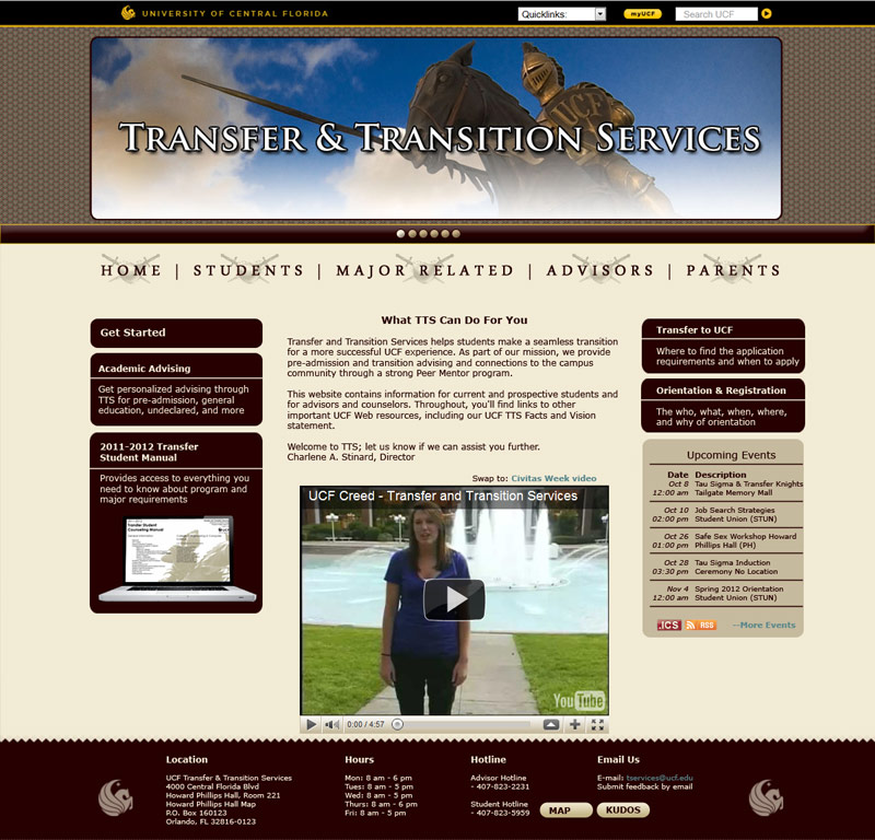 transfer and transition services homepage